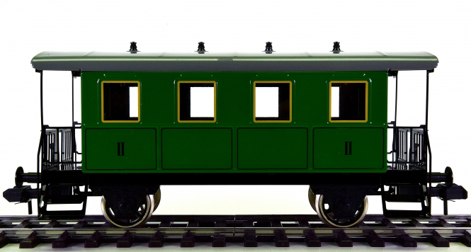 Märklin 5470 (Spur 1) – 2. Klasse Personenwagen der K.W.St.E.