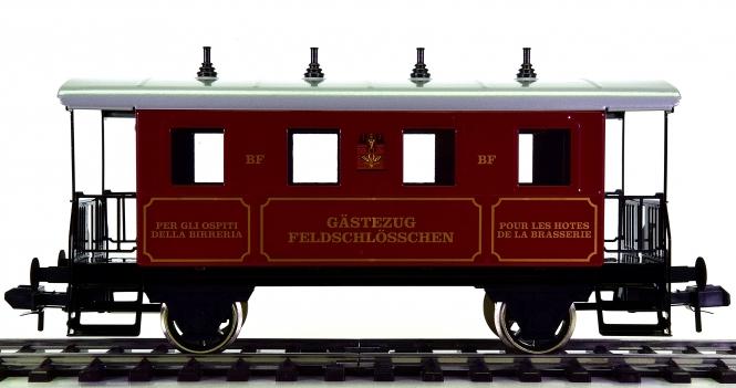 Märklin 54706 (Spur 1) – Personenwagen GÄSTEZUG FELDSCHLÖSSCHEN der SBB