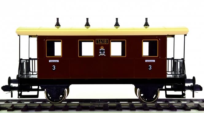 Märklin 54701 (Spur 1) – 3. Klasse Personenwagen der KPEV