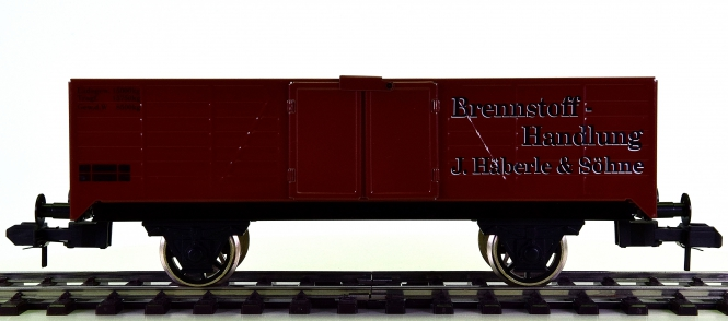 Märklin 5482 (Spur 1) – Offener Güterwagen -Brennstoff-Handlung- der K.W.St.E.