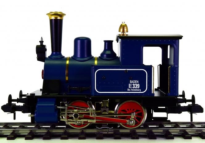 Märklin Maxi 54510 (Spur 1) – Tender-Dampflok der BadStB., digital & Rauch