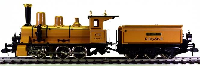 Märklin Maxi 54523 (Spur 1) – Dampflok CIII der K.Bay.Sts.B, digital & Rauch