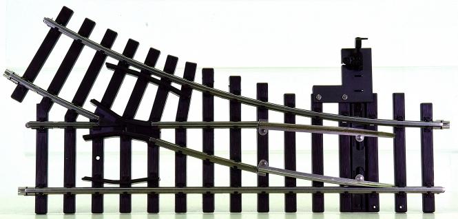 Märklin 5966 (Spur 1) – Weiche rechts R=600 mm 30°