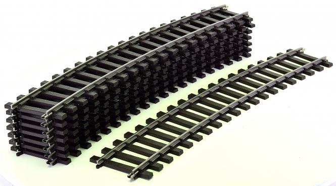 Märklin 5935 (Spur 1) – 8 x gebogenes Gleis 22,5°, Radius 1020 mm