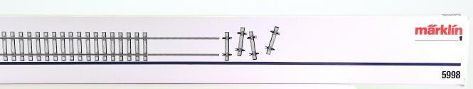 Märklin 5998 (Spur 1) – Gleisbausatz