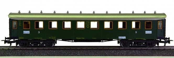 Märklin 4136 - Schnellzugwagen C4ü bay 11 3.Kl. der DRG