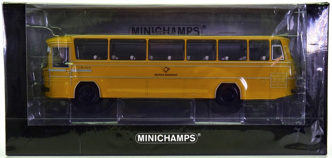 Minichamps 439035191 (1:43) – Mercedes-Benz O 302 Deutsche Bundespost 1965