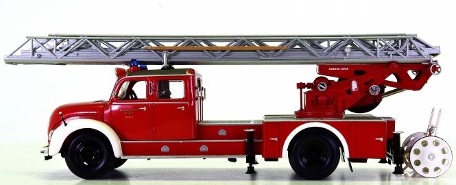 Minichamps 439140071 (1:43) – Magirus S 6500 Aerial Ladder 1955