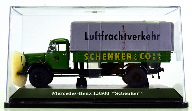 Premium ClassiXXs (1:43) – Mercedes-Benz L3500 -Schenker Luftfrachtverkehr-