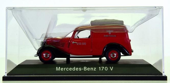 Schuco 006258 (1:43) – Mercedes-Benz 170 V Deutsche Reichspost