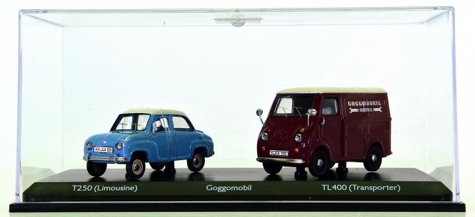 Schuco 03475 (1:43) – Set Goggomobil, Limousine und Transporter