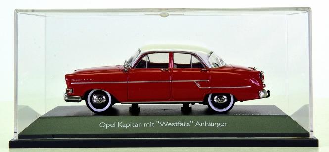 Schuco 02640 (1:43) – Opel Kapitän mit Westfalia Anhäger