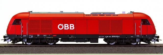 Roco 72870 (H0) - Mehrzweck-Diesellok BR 2016 der ÖBB