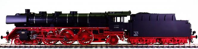KM1 100303 (Spur 1) – Schlepptender-Dampflok BR 03 der DB, digital + Sound + Rauch