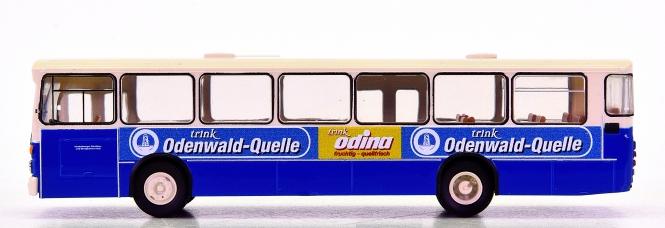 Brekina 50781 (1:87) – Stadt-Linienbus MB O 305 -Odenwaldquelle- aus Heidelberg