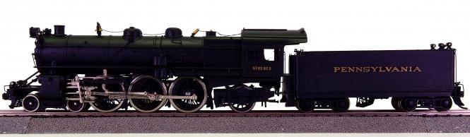 Westside Model Company – Schlepptender-Dampflok K-3 4-6-2 der Pennsylvania