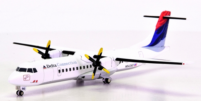 Herpa Wings 552219 (1:200) – ASA Delta Connection ATR-72 -Vintage Livery-