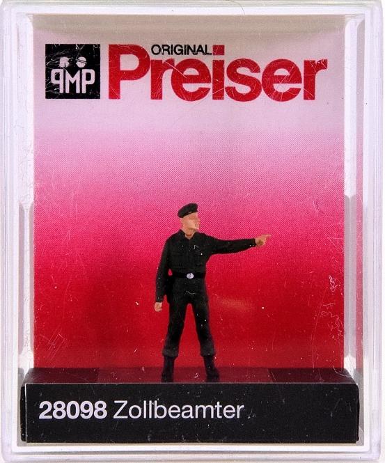 Preiser 28098 (H0) - Zollbeamter / Costums officer