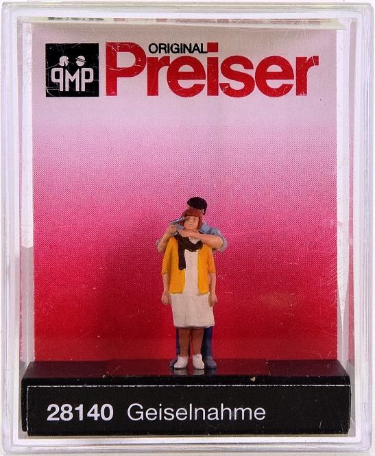 Preiser 28140 (H0) - Geiselnahme / Hostage situation