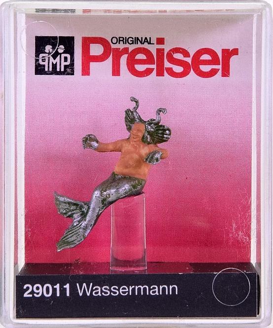 Preiser 29011 H0 Figuren Wassermann