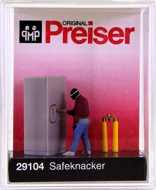 Preiser 29104 (H0) - Safeknacker / Safecracker