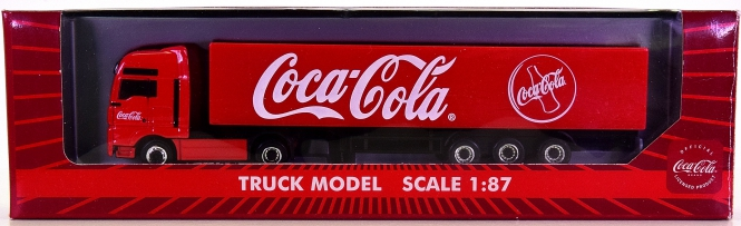 Lemke (1:87) – MAN-Sattelzug -Coca Cola-
