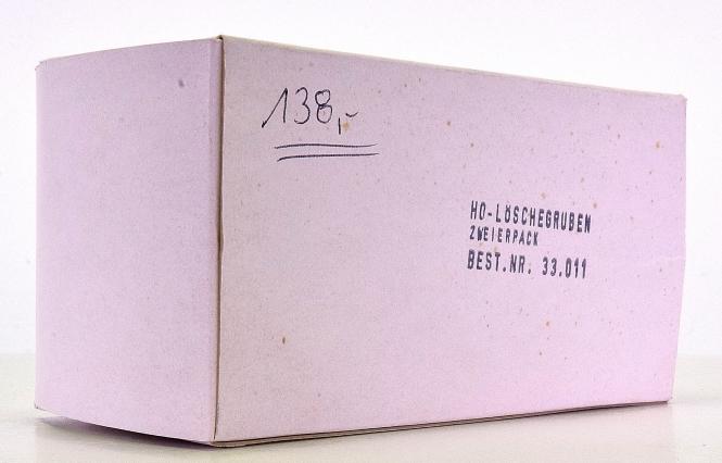 B&K 33.011 (H0) – Bausatz für 2 Löschegruben