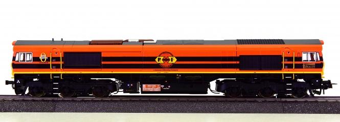 ESU 31287 (DC/AC) – Diesellok der Rail Feeding Class 66, digital, Sound & Rauch