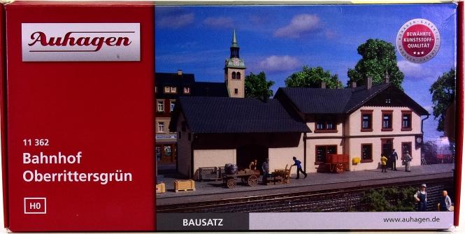 Auhagen 11362 – Bausatz Bahnhof Oberrittersgrün