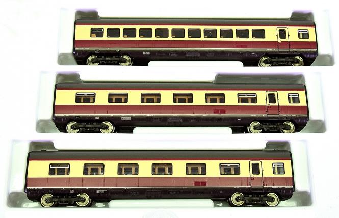 Roco 43069 – Ergänzungsset zum Roco-TEE-Triebzug 43067 BR 601 (VT 11) der DB