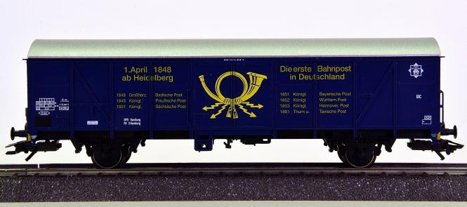 Märklin 47368 – Bahnpostwagen Post 2-t/13 der DP AG