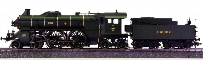Märklin 37015 - Schlepptender-Dampflok S 2/6 der K.Bay.Sts.B., mfx & Sound