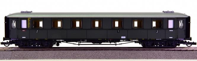 Roco 44537 – 1./2. Klasse Schnellzug-Abteilwagen AB4üwe der DB