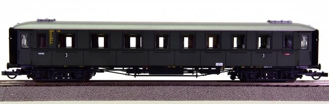 Roco 44539 – 3. Klasse Schnellzug-Abteilwagen C4ü der DB