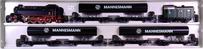Märklin 2854 – 8-tlg. Mannesmann-Röhren-Zug, mit BR 86 der DB