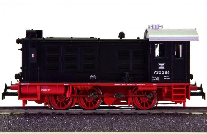 Brawa 41607 (AC) – Mehrzweck-Diesellok BR V36 der DB, digital + Sound + Telex