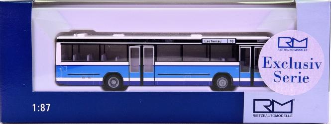 Rietze 71704 (1:87) - Bus N 416 SL -Hirschmann Reisen, Lauterhofen-, Linie 76 Eschenau