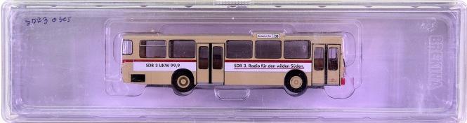 Brekina 50728 (1:87) – Linienbus MB O 305 -Karlsruhe/SDR- , Durlacher Tor 30