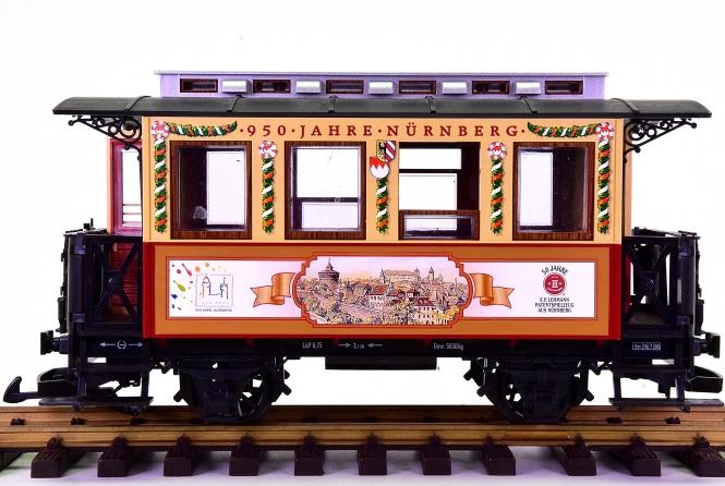 LGB 70950-02 (G/IIm) – Personenwagen -950 Jahre Nürnberg-