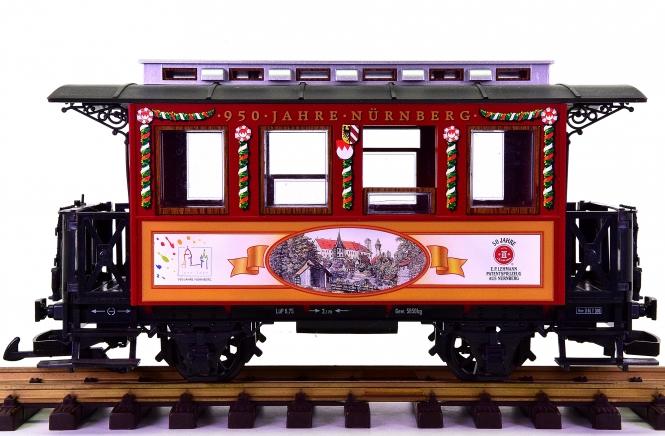 LGB 70950-03 (G/IIm) – Personenwagen -950 Jahre Nürnberg-