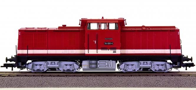 Roco 62810 – Diesellok BR 114 der DR (DDR)