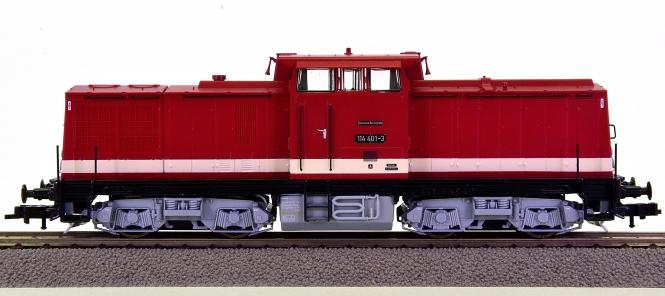 Roco 62811 – Diesellok BR 114 der DR (DDR)