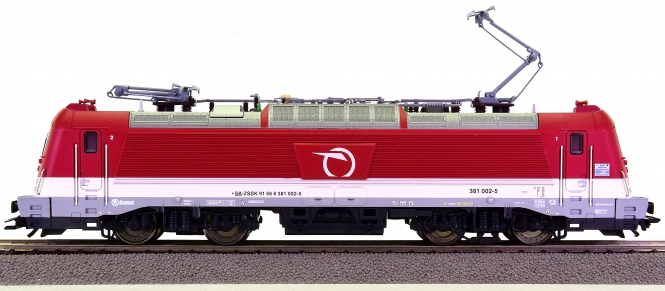 Trix 22287 – Elektrolok BR 381 der Slowakischen Eisenbahngesellschaft (ZSSK)