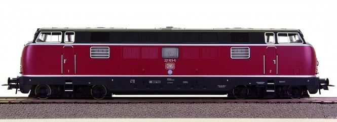 Roco 73820 – Mehrzweck-Diesellok BR 221 der DB