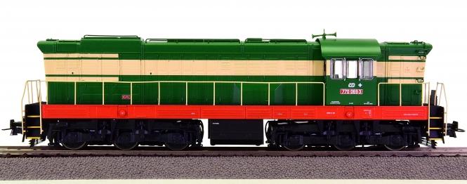 Roco 72775 – Diesellok T 770 -Hummel- der Tschechoslowakischen Staatsbahnen (CSD)