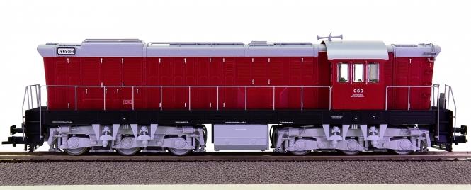 Roco 72777 – Diesellok T699 der Tschechoslowakischen Staatsbahnen (CSD)