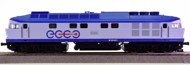 Roco 52466 – Diesellok BR 232 der Ecco Rail