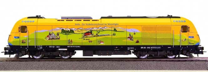 Roco 71399 – Diesellok alex ER20 der Länderbahn GmbH im -bodo- Werbedesign