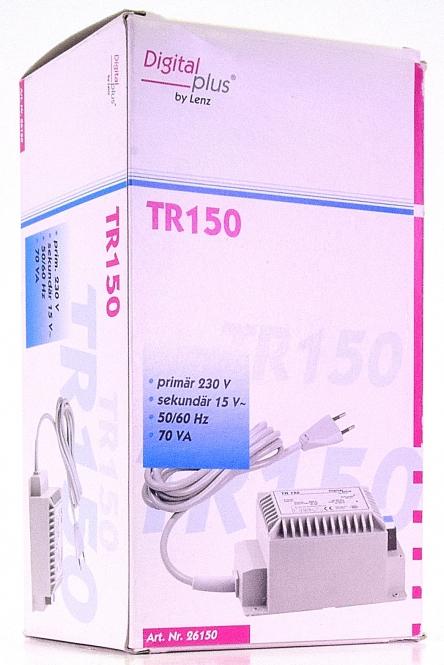 Lenz 26150 - TR150 Transformator 15 V, 70VA