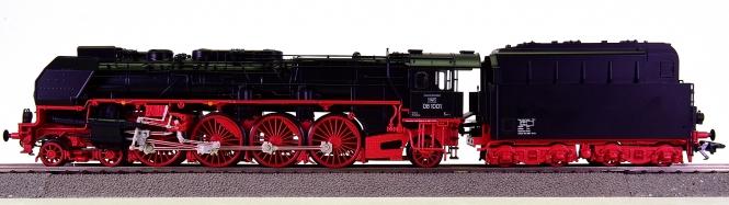 Trix 22912 - Schnellzug-Dampflokomotive BR 08, digital + Sound + Rauch